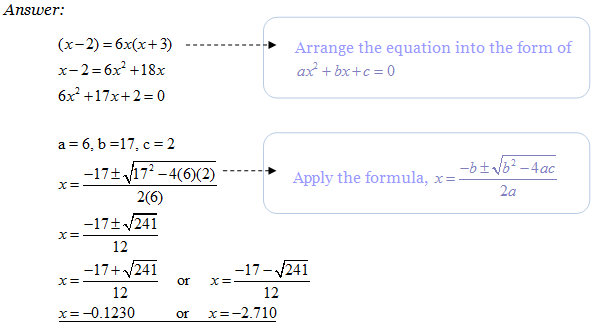 example 5 answer