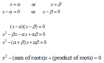 forming equation explanation