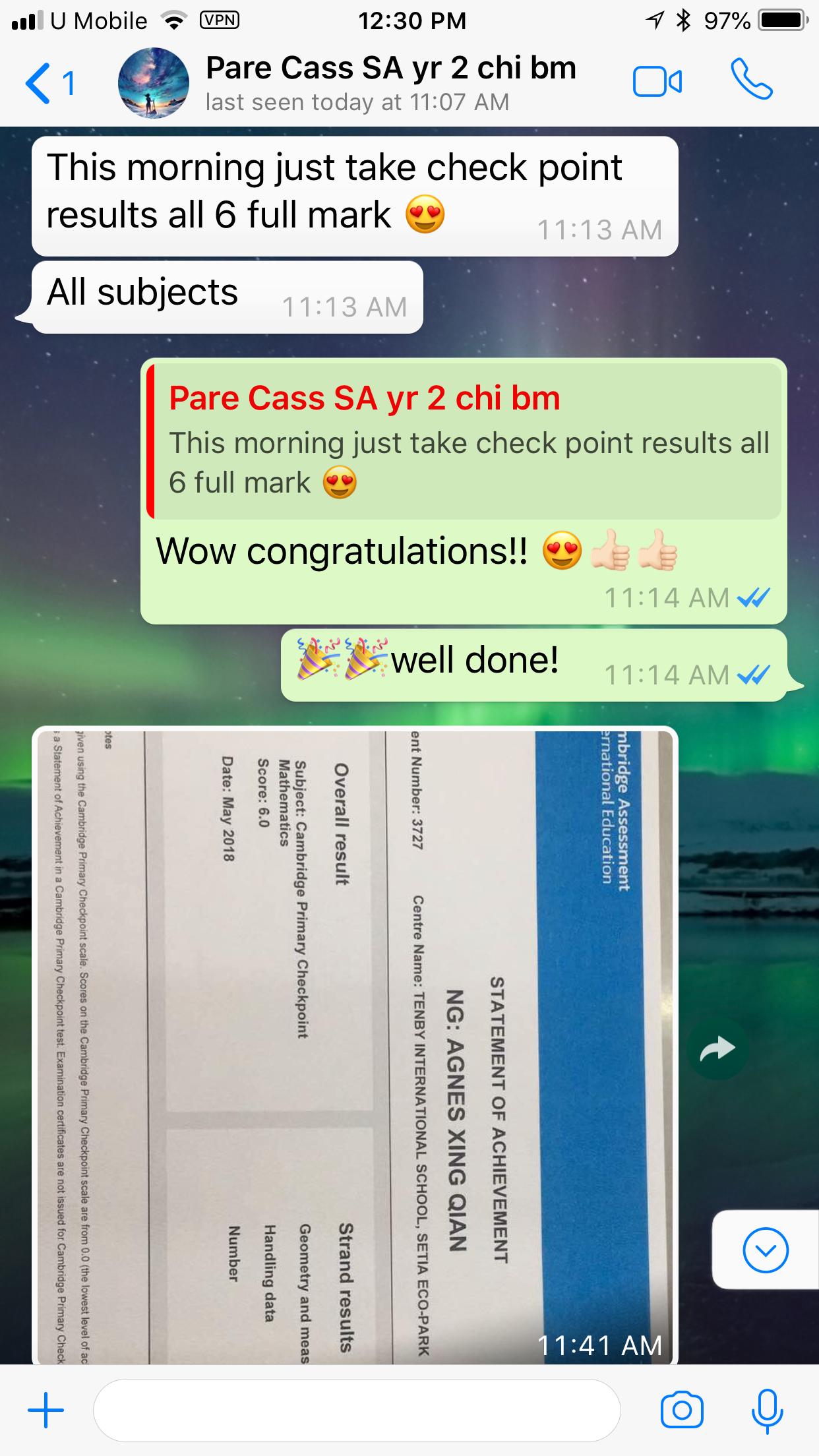 Year 6 Checkpoint Maths - Parent Cass